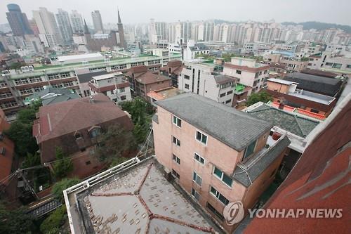 단독·다가구주택 [연합뉴스 자료사진]