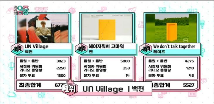 MBC '쇼 음악중심' 방송 캡쳐