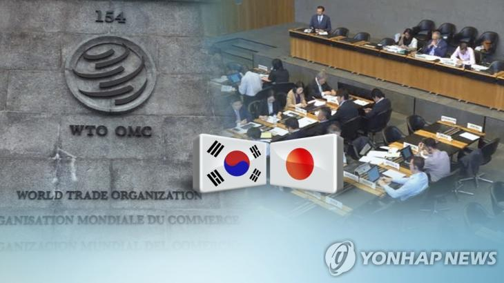 WTO로 간 일본 수출규제…정부, 철회 압박 (CG) [연합뉴스TV 제공]