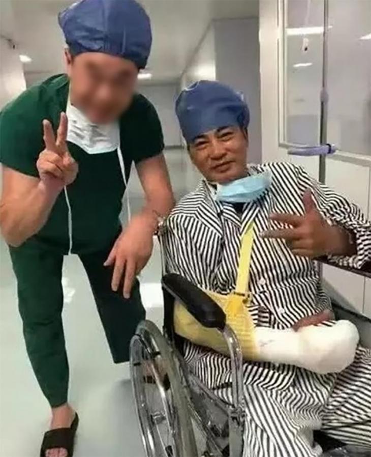 임달화 회복 근황 / 임달화(런다화) 아내 기기 웨이보