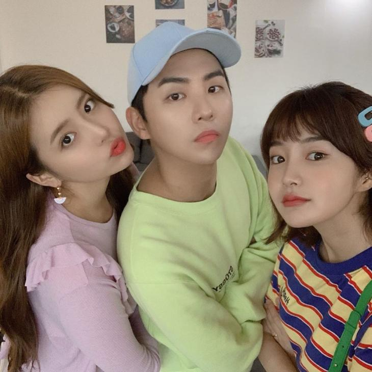 정신혜-김형석-박시안 / 박시안 인스타그램