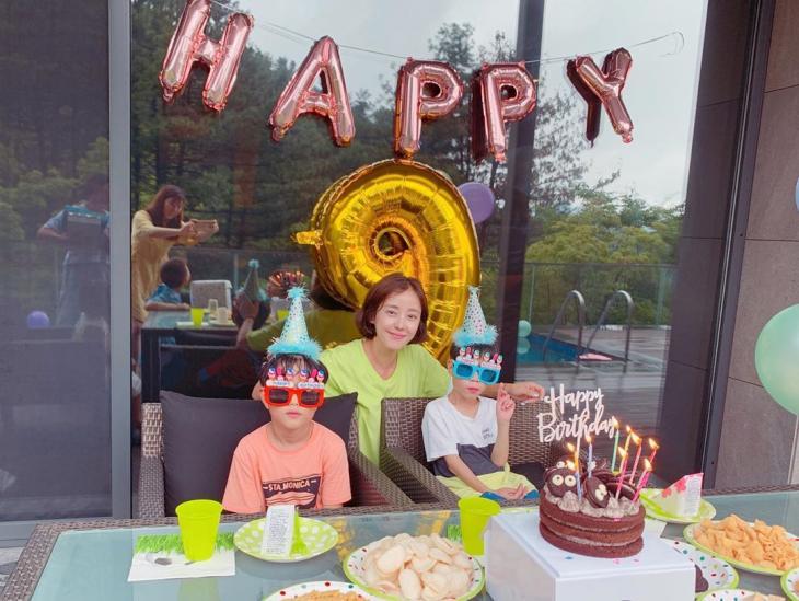 박은혜-쌍둥이 아들 / 박은혜 인스타그램