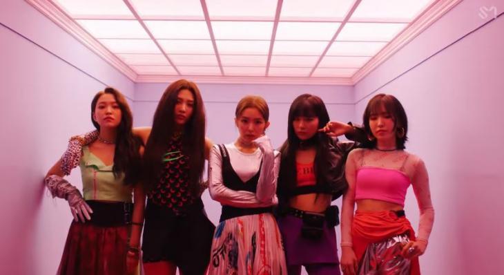 레드벨벳 '짐살라빔' 뮤직비디오 캡처