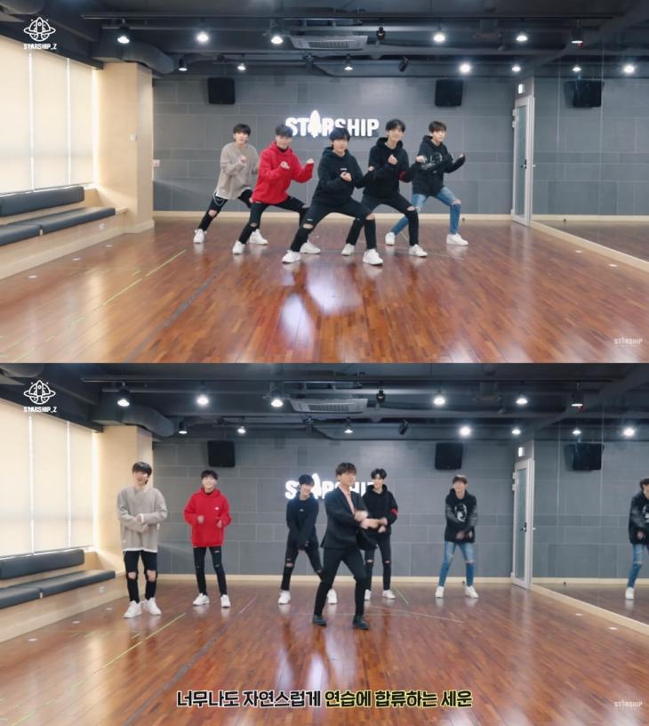스타쉽 'PRODUCE X 101 나노단위 비하인드' 영상 캡처