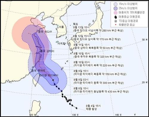 태풍 레끼마 / 기상청