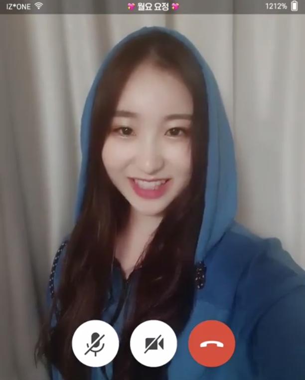 아이즈원(IZ*ONE) 이채연 / 아이즈원 공식 인스타그램