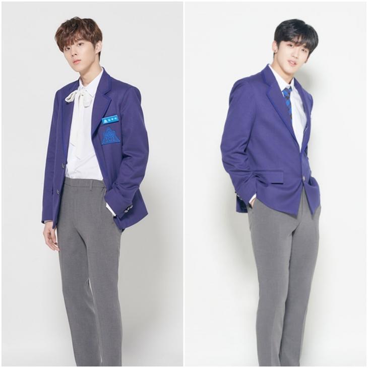 김우석-김요한 / 프로듀스 101 공식 인스타그램
