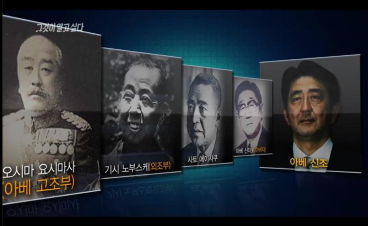경복궁 기습을 주도한 일본군 여단장 오시마 요시마사가 아베의 고조부 / SBS '그것이 알고싶다'