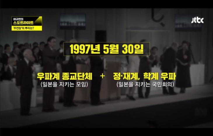 일본회의의 탄생 / JTBC 스포트라이트