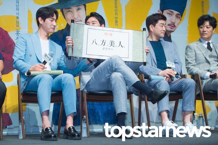 영화 '광대들:풍문조작단' 출연진 / 톱스타뉴스 HD포토뱅크