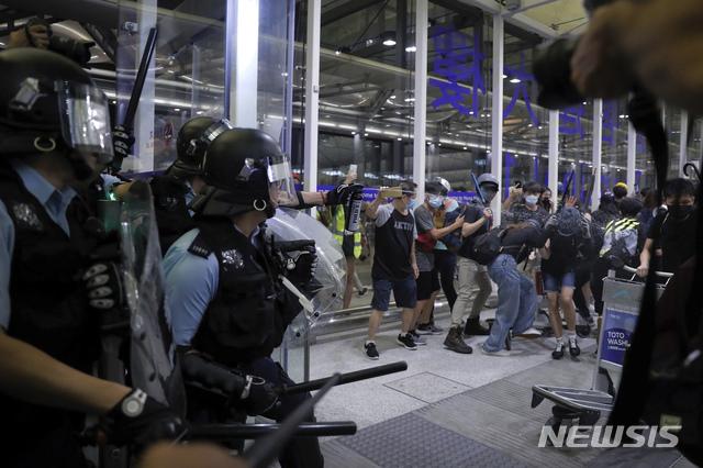 홍콩 공항 / 뉴시스