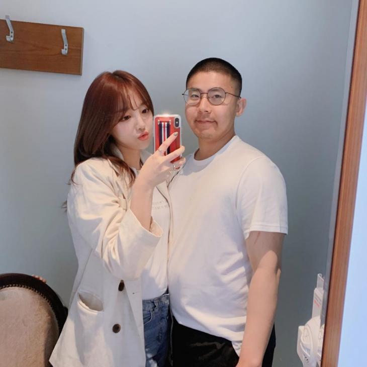 외질혜-철구 / 외질혜 인스타그램