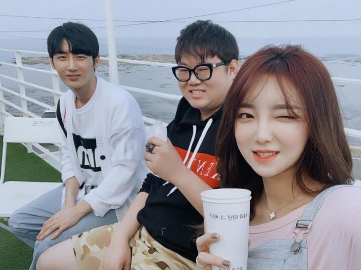 '나락즈' NS남순-감스트-외질혜 / 외질혜 인스타그램