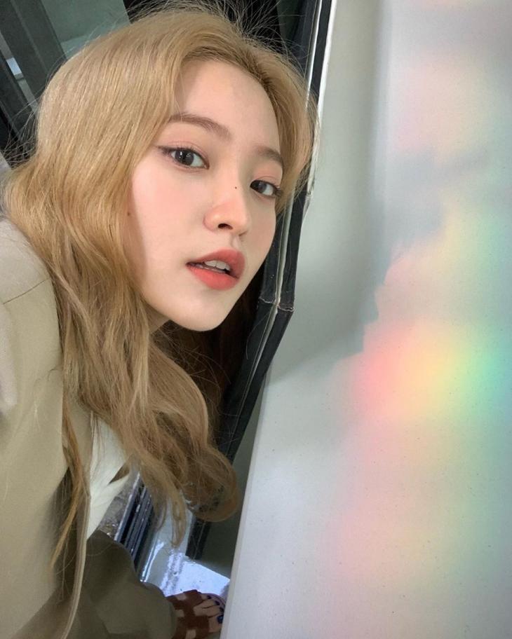 레드벨벳(Red Velvet) 예리 인스타그램