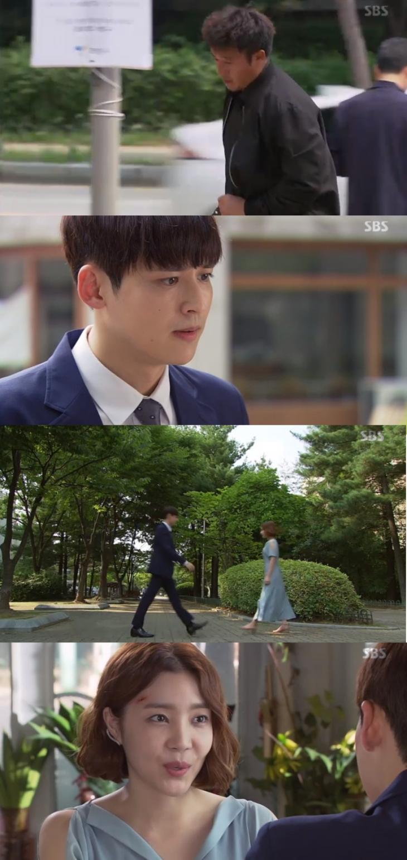 신다은 박진우 / SBS '수상한 장모' 캡처