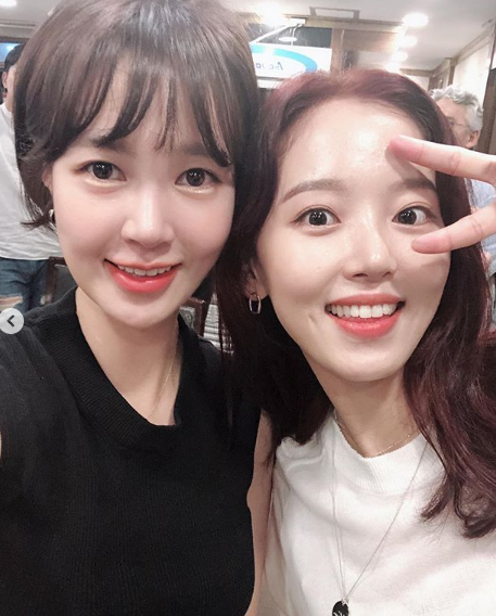 최윤영-강한나 / 강한나 인스타그램