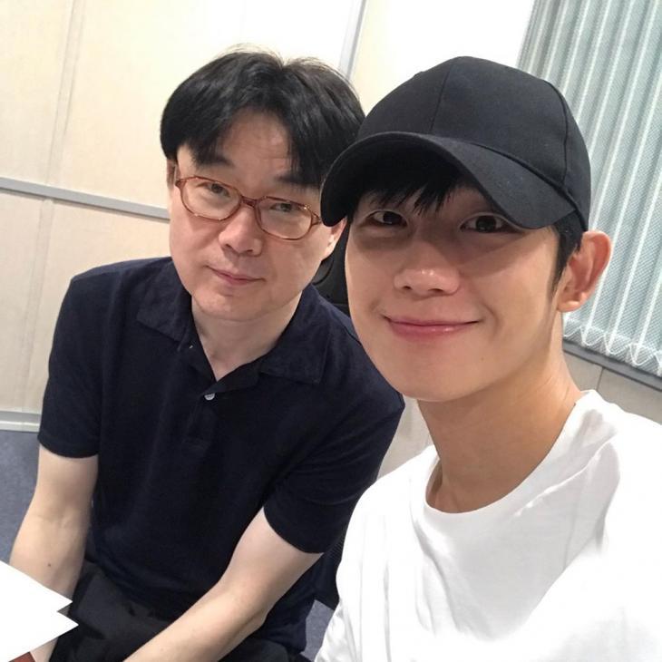 정지우-정해인 /  SBS 파워FM '박선영의 씨네타운' 인스타그램