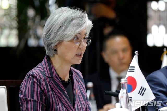 강경화 외교부 장관 / 뉴시스