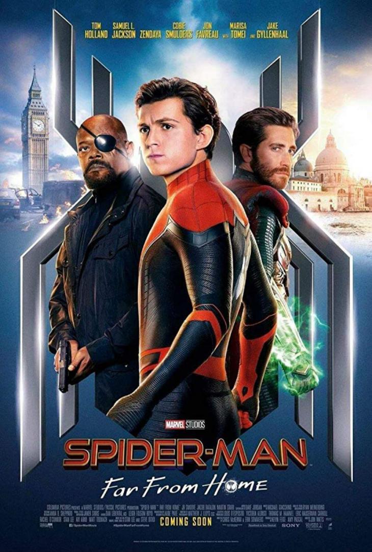 '스파이더맨 : 파 프롬 홈' 포스터 / IMDB