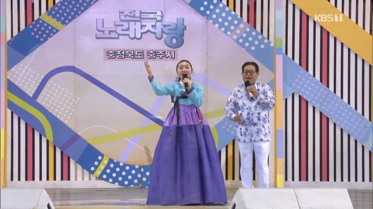 송해 나이가? '전국노래자랑'서 구수한 가창력 뽐내… 가수 진성의 마지막 무대까지