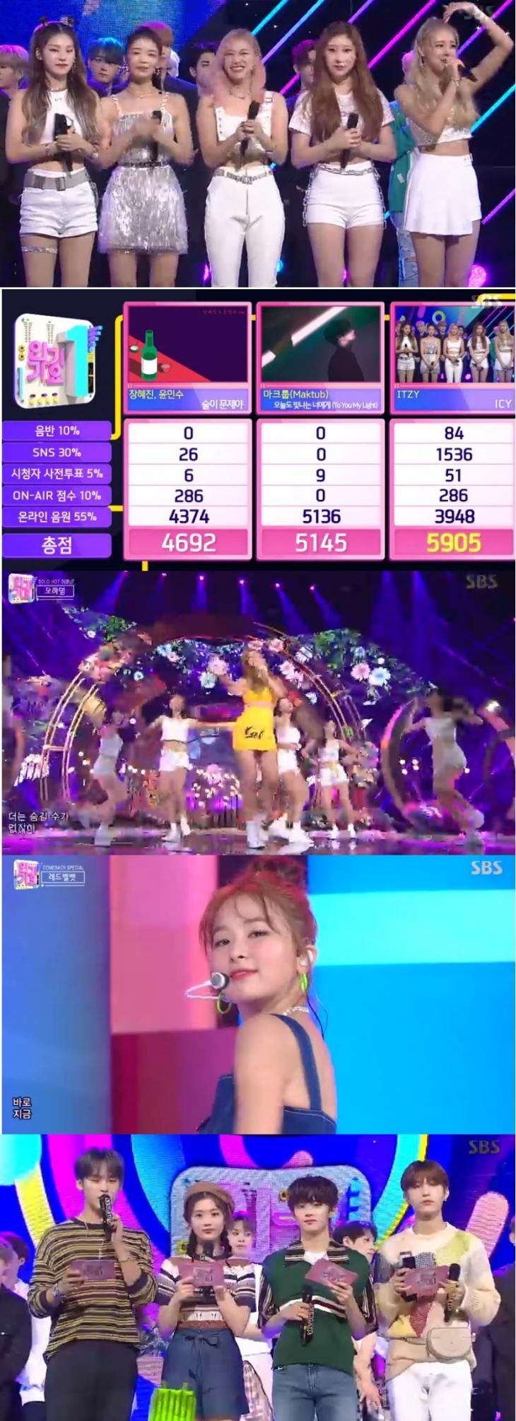 ITZY / SBS '인기가요' 캡처