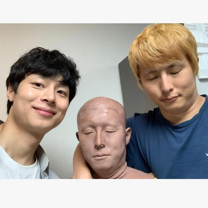 김충재-기안84 / 김충재 인스타그램