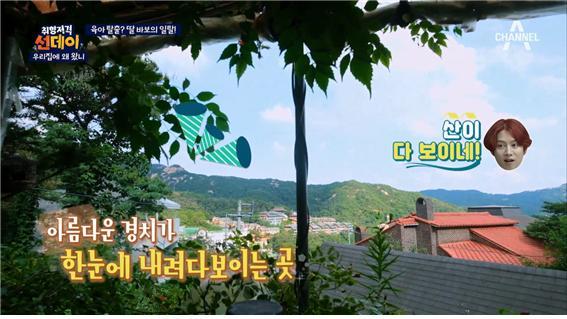 skydrama 예능 '우리집에왜왔니' 방송 캡처