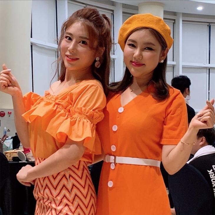 김소유-송가인 / 김소유 인스타그램