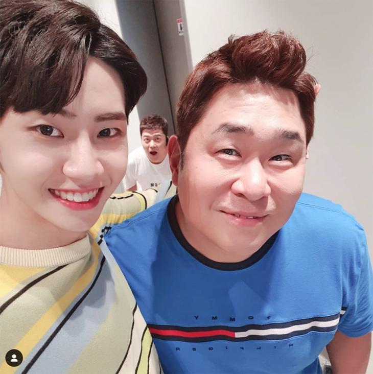 이진혁-전현무-문세윤 / 이진혁 인스타그램