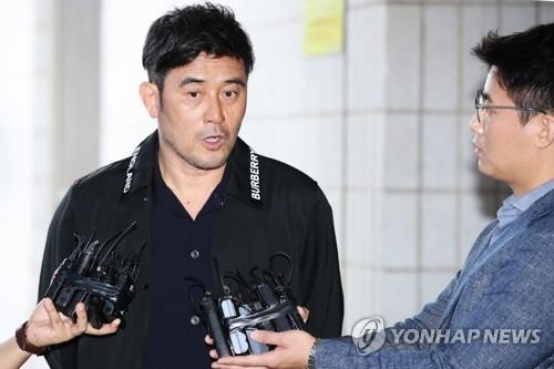 보복운전 혐의 최민수 1심 선고 / 연합뉴스