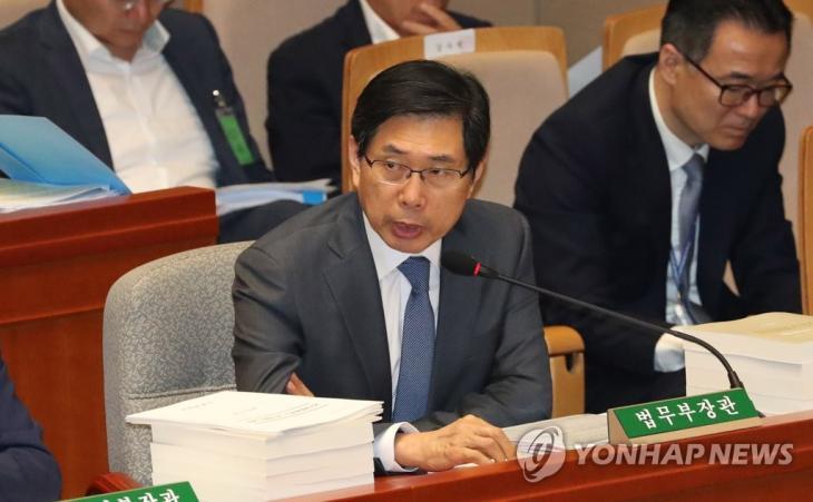 박상기 법무부 장관 2019.9.5 / 연합뉴스