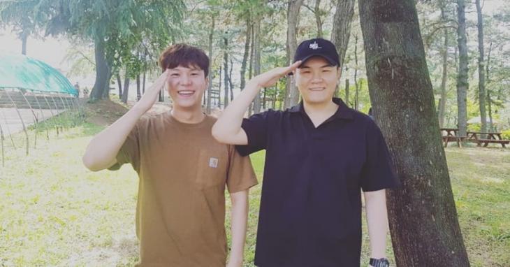 포맨(4MEN) 김원주-신용재 인스타그램