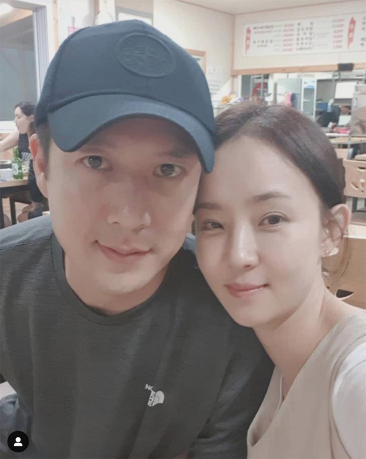 조현재-박민정 / 박민정 인스타그램