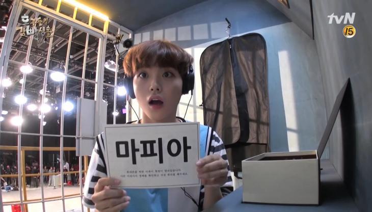 JTBC '호구들의 감방생활' 비하인드 영상 캡처