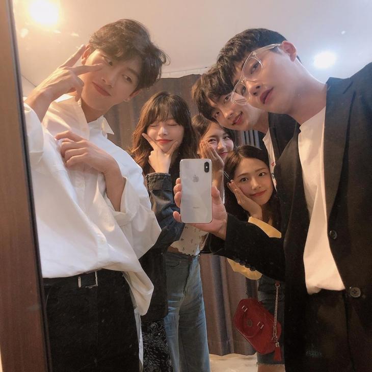 최찬이-김소연-주현영-이은재-윤준원-강율 / 최찬이 인스타그램