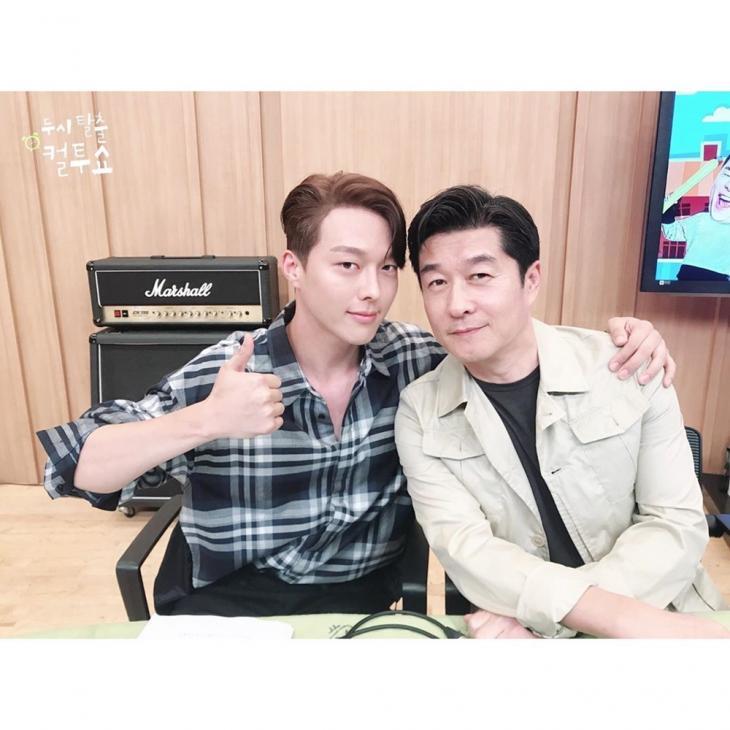 장기용-김상중 / SBS 파워FM '두시탈출 컬투쇼' 공식 인스타그램
