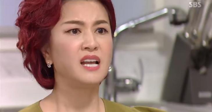 김혜선 / SBS '수상한 장모' 캡처