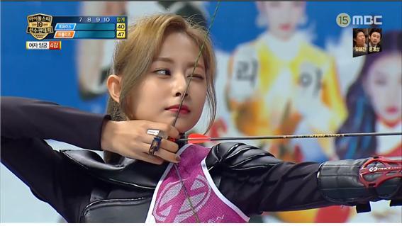 MBC 예능 2019아이돌스타선수권대회 방송 캡처