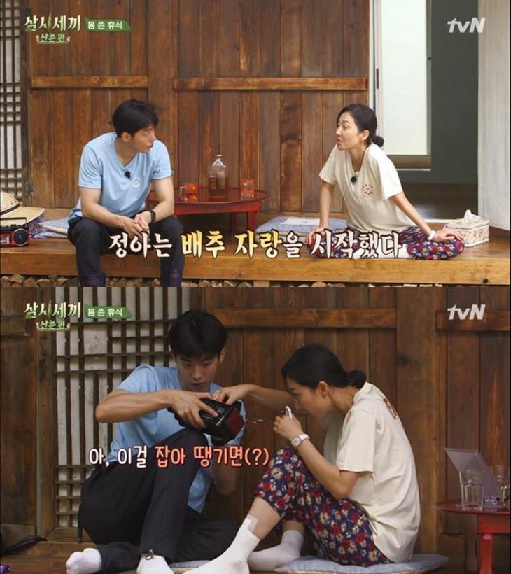 tvN '삼시세끼 산촌편' 방송 캡처