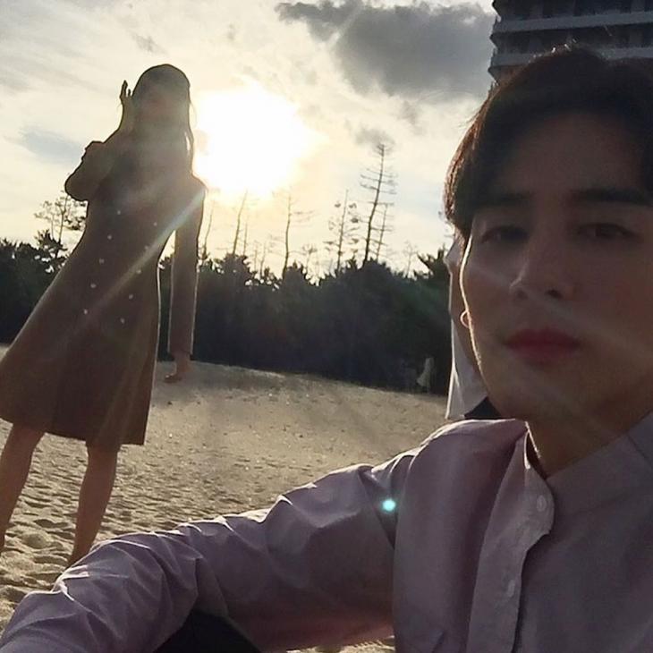 윤소이-오창석 / 오창석 인스타그램