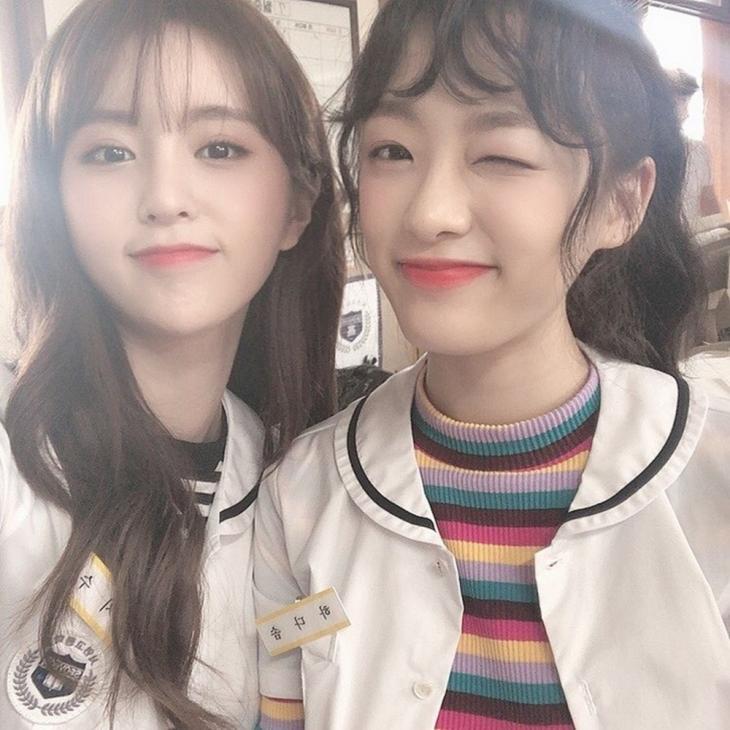 김누리-이진솔 / 플레이리스트 공식 SNS