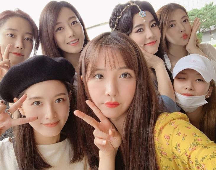 레인보우(RAINBOW) / 김재경 인스타그램