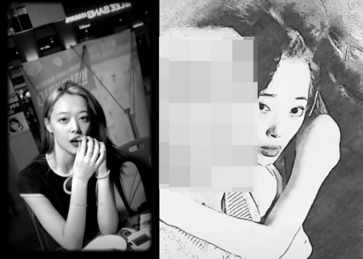설리, 솔직한 술집 방송부터 남사친까지…'화제의 인스타 라이브'