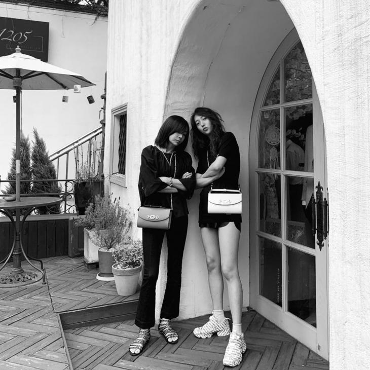 황신혜-딸 이진이 / 이진이 인스타그램