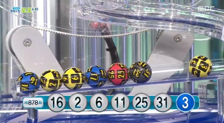 MBC '생방송 행복드림 로또 6/45' 방송 캡처