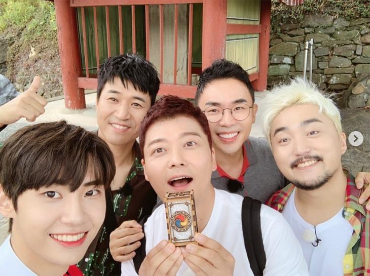 이진혁-전현무-유병재-김종민-설민석 / 이진혁 인스타그램