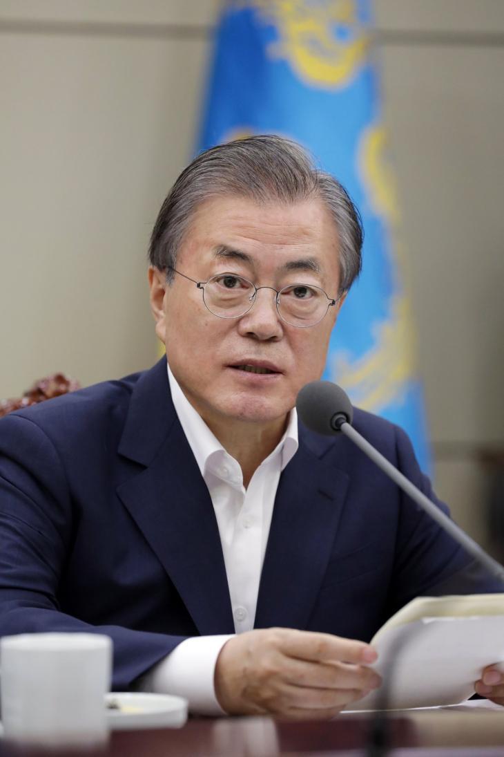 문재인 대통령 / 청와대