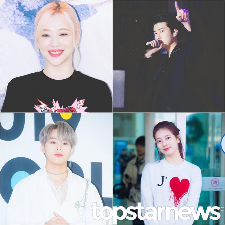 설리-세훈-하성운-수지 / 톱스타뉴스 HD포토뱅크