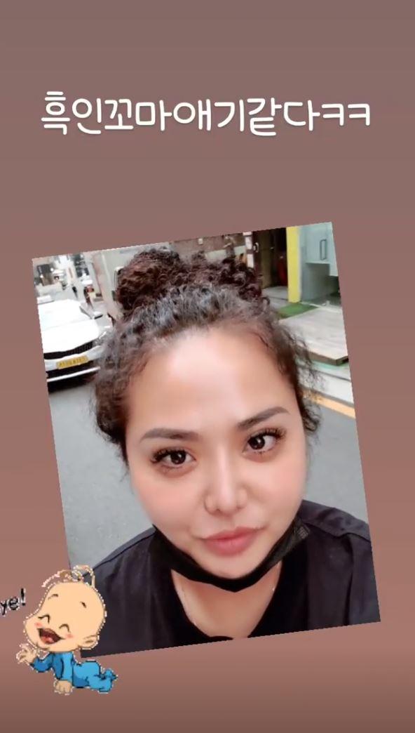홍선영 인스타그램 스토리