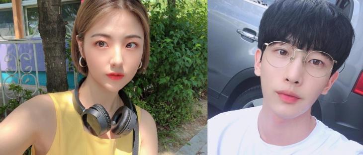 김채랑-김민석 / SNS